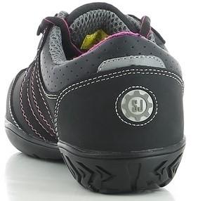 OUTLET! Safety Jogger Ceres S3 Metaalvrij - Zwart/Roze - Maat 41-3