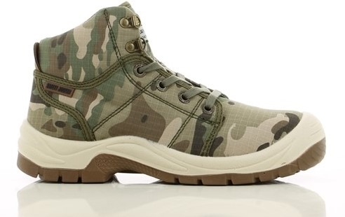 SALE! Safety Jogger S-77.5157.78 Desert S1P - Camouflage - Maat 42