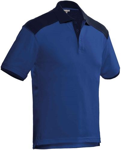 SALE! Santino Poloshirt Tivoli - Real navy / Cobalt - Maat S
