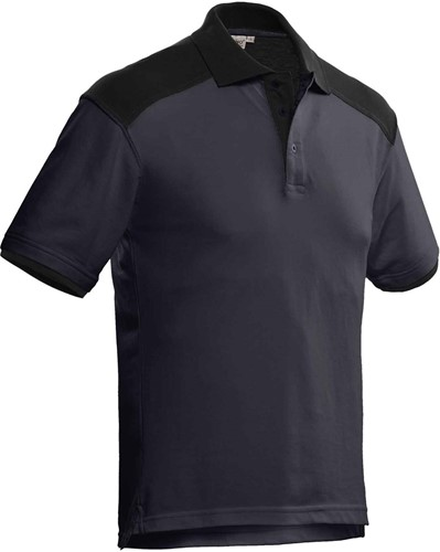 SALE! Santino Poloshirt Tivoli - Grijs/Zwart - M