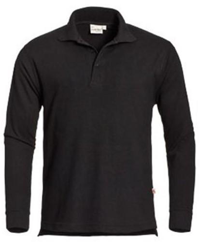 SALE! Santino Poloshirt Matt - Zwart - Maat L