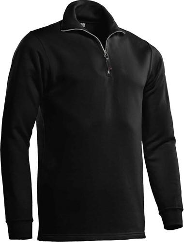SALE! Santino Zipsweater Alex - Zwart - Maat M