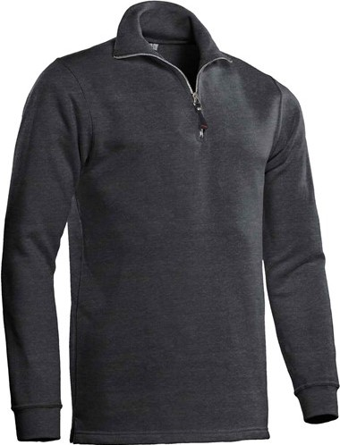 SALE! Santino 1001347 Zipsweater Alex - Donker grijs - Maat L