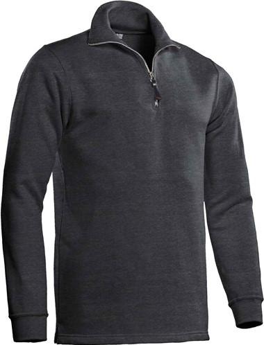 SALE! Santino Zipsweater Alex - Donker grijs - Maat L