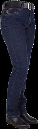 Crosshatch Shiva Dames Spijkerbroek Dark Stone Stretch