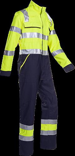 SALE! Sioen 026VN2PF9 Fareins Signalisatie overall met ARC bescherming - Fluo geel - Maat 58