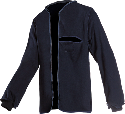 SALE! Sioen Heflin Vlamvertragende Fleece Voering - Navy - Maat S