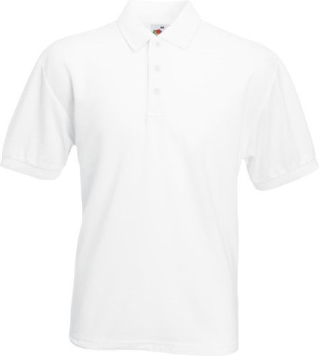 SALE! Fruit of the Loom SC280 65/35 Polo-shirt - Wit - Maat XL