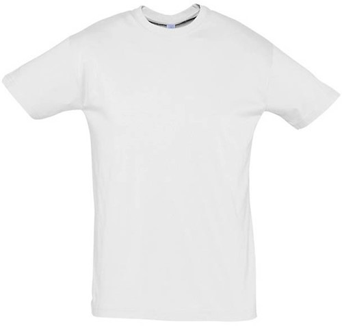 SALE! Sol's Regent 11380 T-shirt - Wit - Maat 2XL