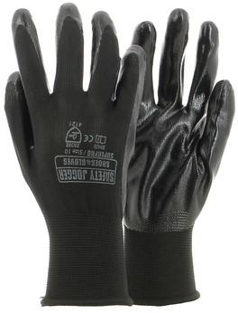 SALE! Safety Jogger 2121 Superpro Handschoenen 3 stuks - Zwart - Maat 9