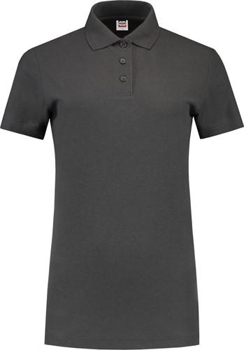 OUTLET! Tricorp PPT180 Poloshirt 180 Gram Dames - Donkergrijs - Maat 3XL