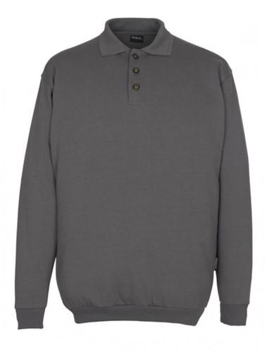 SALE! Mascot 00785 Trinidad Polo Sweatshirt - Donker grijs - Maat L