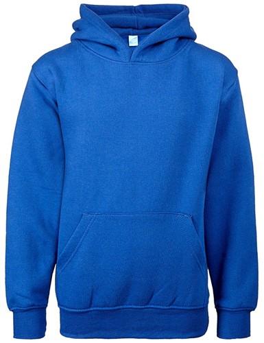 SALE! Uneek UC503 Kinder Hooded Sweatshirt - Blauw - 2 Jaar