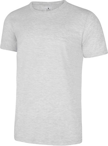 SALE! Uneek UC320 Olympic T Shirt Heather - Grey - Maat L