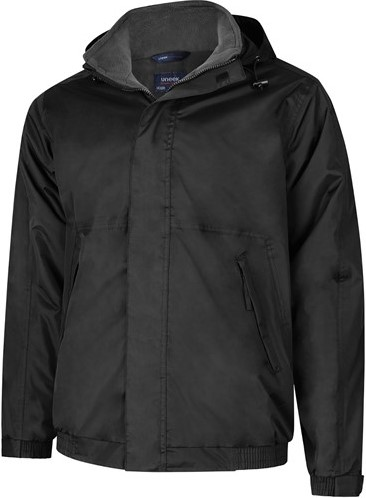 SALE! Uneek UC620 Premium Outdoor Jacket - Black/Grey - Maat XL
