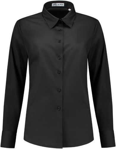 SALE! Me Wear 5009 Dames blouse Juliette LM - Zwart - Maat M